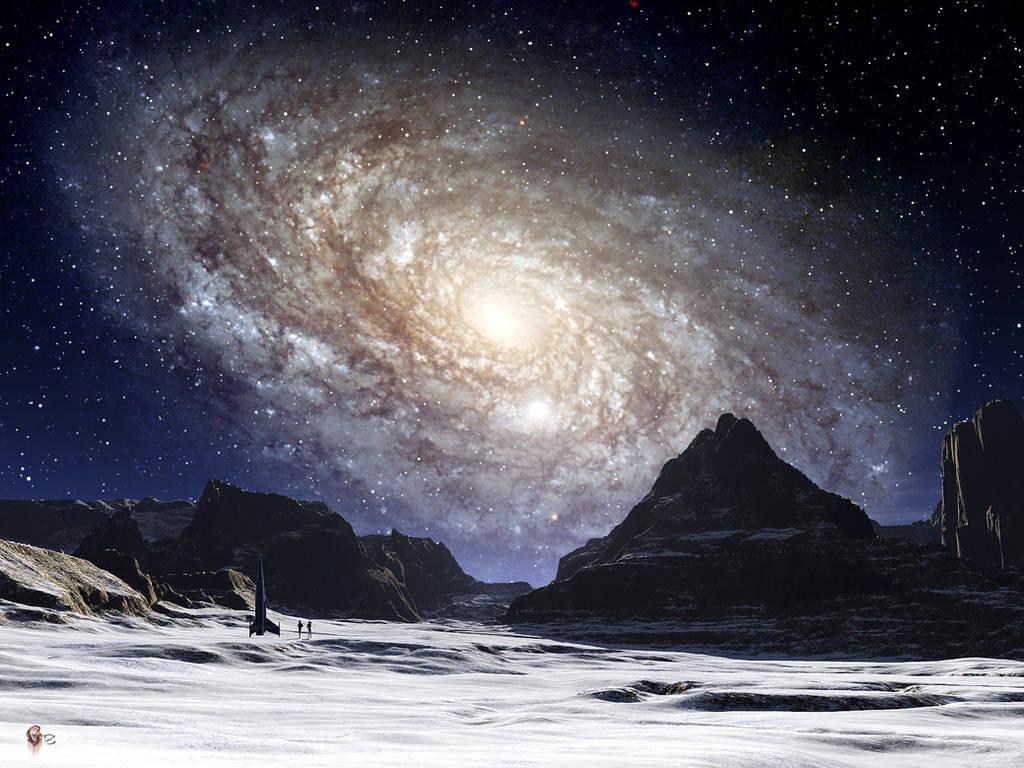 Galaxy Rise II by gerberc