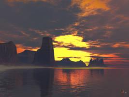 Sunset by gerberc