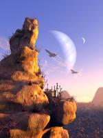 Moon 12 by gerberc