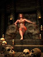 Barbarian Queen by gerberc
