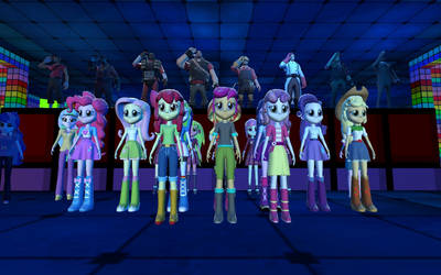 The Equestria Girls Pay Their Respects to Rick May