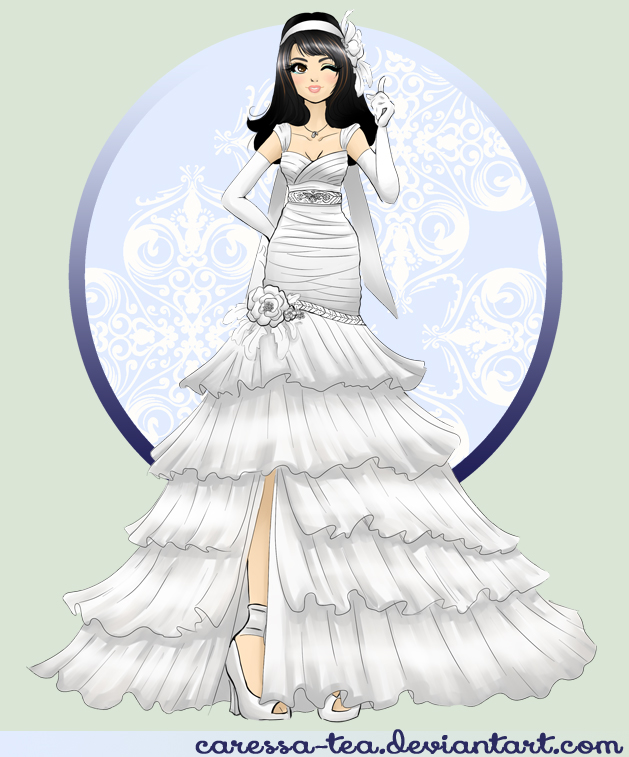 Final Fantasy Wedding: Rinoa by caressa-tea