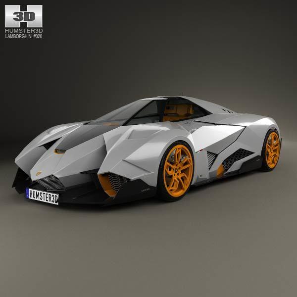 Lamborghini Egoista by humster3d