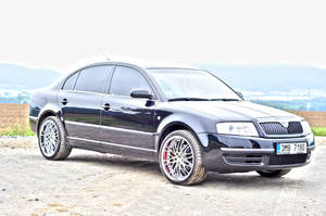 skoda superb by haziskret