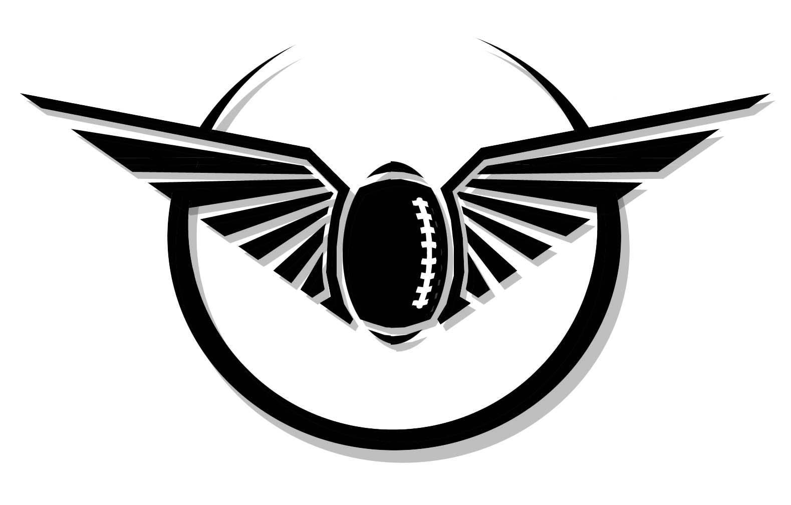Eagle Mascot Football Logo by deathpuppy on deviantART Eagle Football Logo