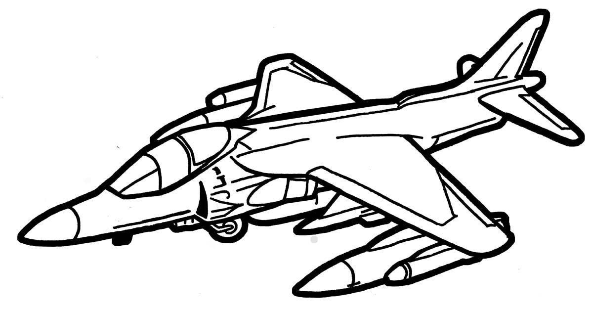 Line Drawing Jet : Harrier jet by deathpuppy on deviantart