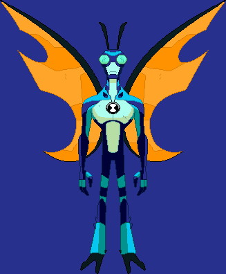 Stinkfly Insectoide Ben 10 Reboot Sprite By Svdsra