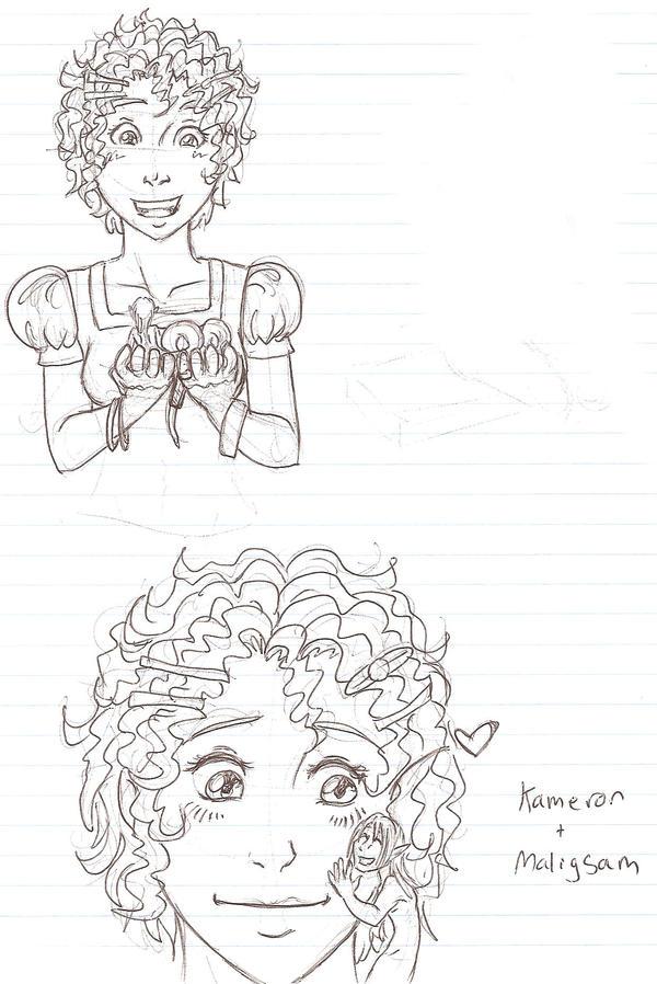Kameron and Maligsam by Doodlebotbop
