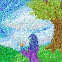 Vine in dots by Doodlebotbop
