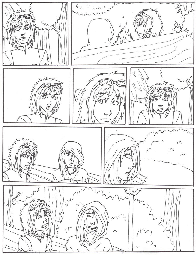 Horus: Page Seven by Doodlebotbop