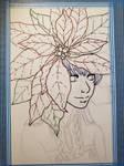 Poinsettia Girl - WIP