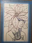 Poinsettia Girl - WIP 2