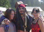 Jack Sparrow is womanazing