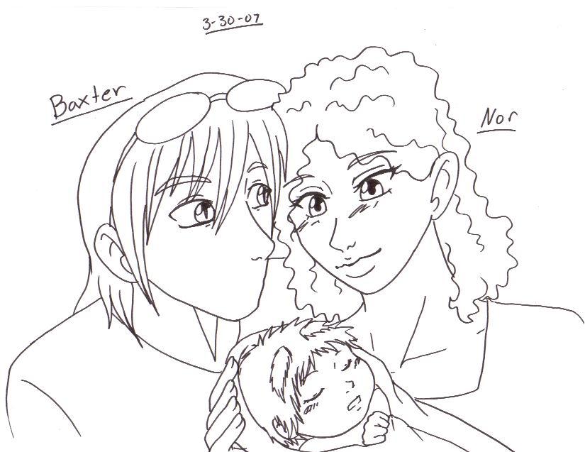 Baxter - Nor - Baby by Doodlebotbop