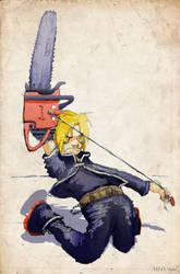 Chainsaw Fullmetal