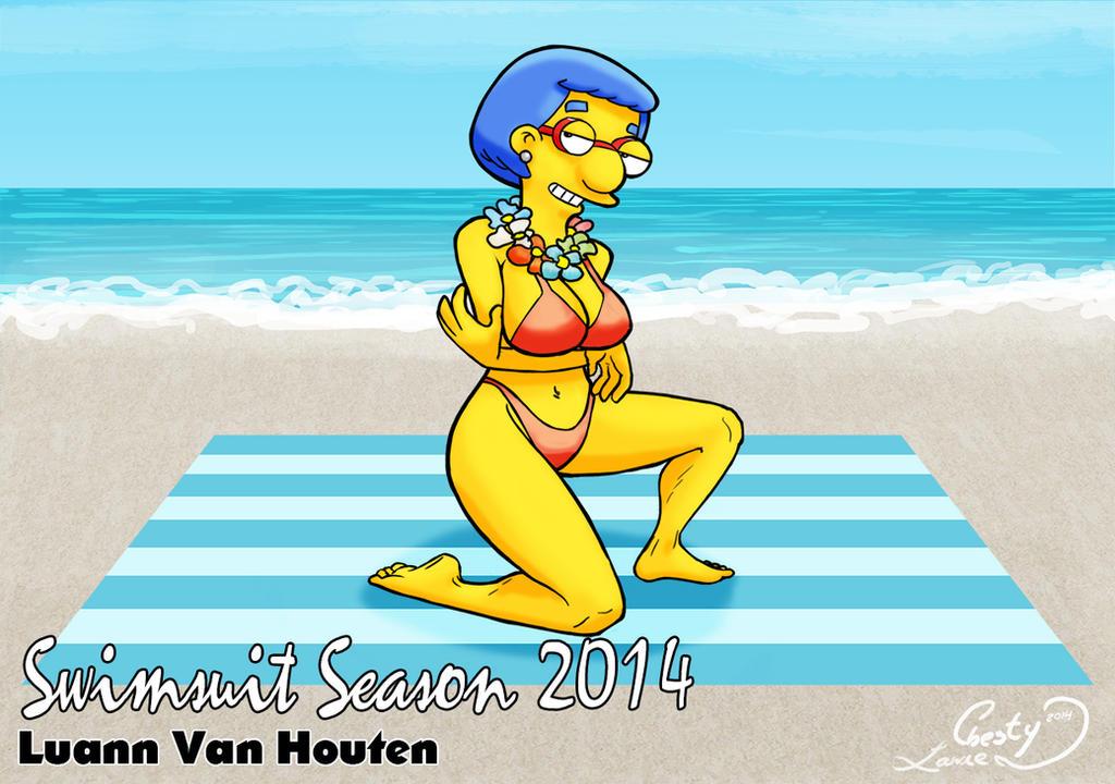 luann comics in a bikini