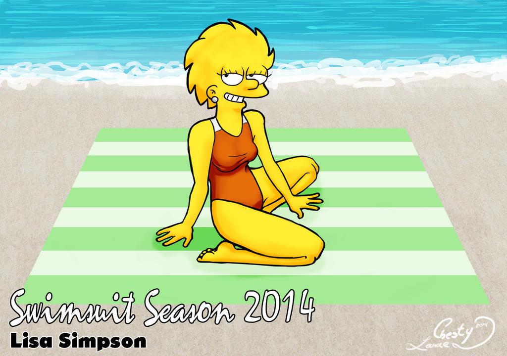 Marge simpson bikini