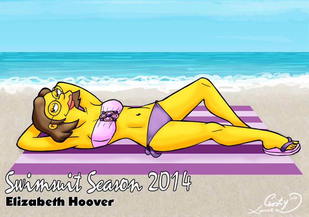 Swimsuit Season 2014: Elizabeth Hoover by Chesty-Larue