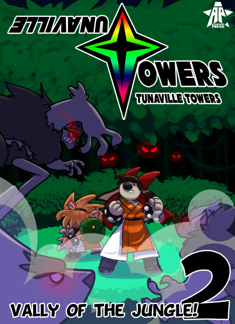 Tunaville Towers - Chapter 2 cover 001 by Chesty-Larue-Art