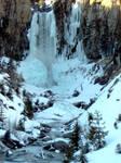 Tumalo Falls in February