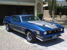 71 Mustang Mach 1 by JediRonald914