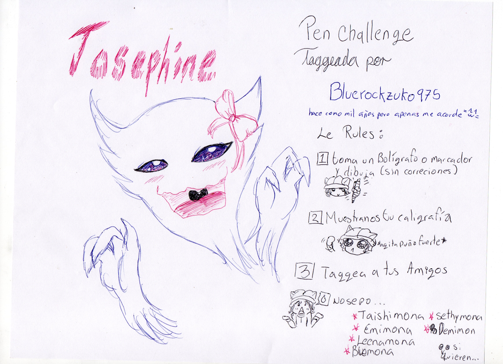Pen Challenge o3o by kittyshadow