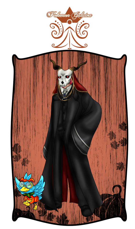 PG: Halloween 2017 by kittyshadow