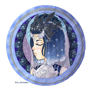 YCH comission Kemi button by kittyshadow
