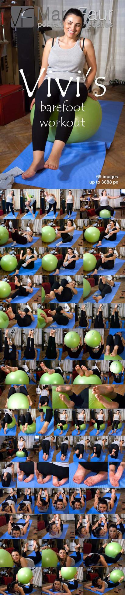 Vivi's Barefoot Workout Set by TheFlesh666