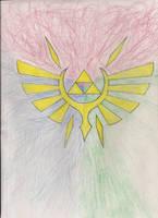Triforce Design 1 by DarkWolf-of-the-Wind