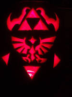 LoZ- Triforce Pumpkin Carving by DarkWolf-of-the-Wind