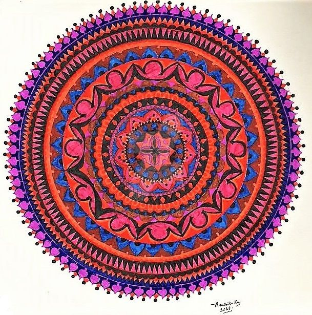 Mandala-1 by AratrikaRay