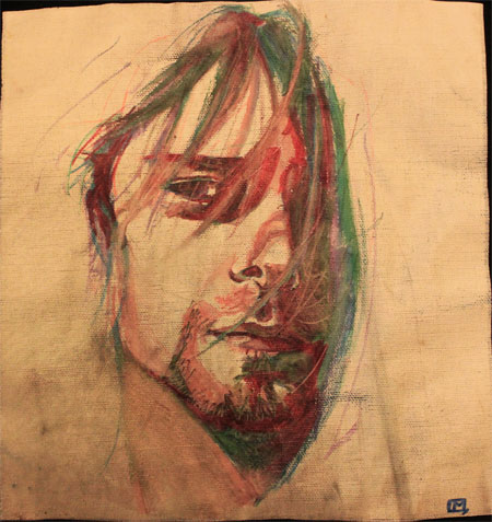 Kurt Cobain by Tifaerith