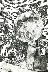 Moon Rabbit by Tifaerith