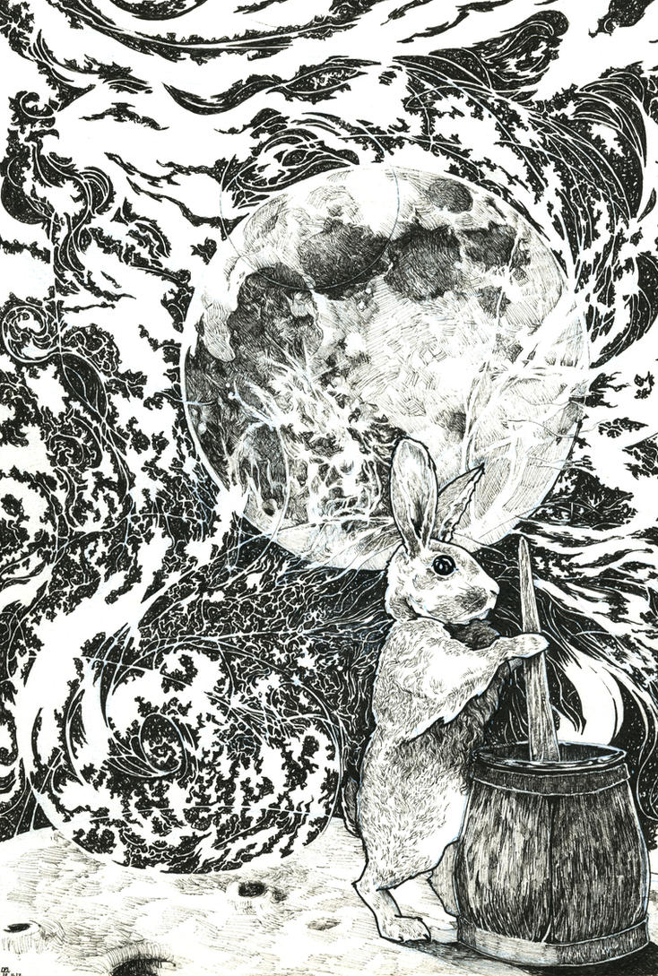 Moon Rabbit by Tifaerith