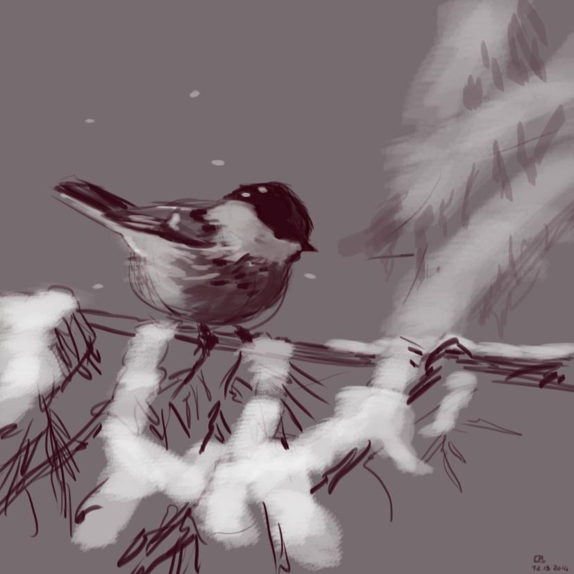 Chickadee by Tifaerith