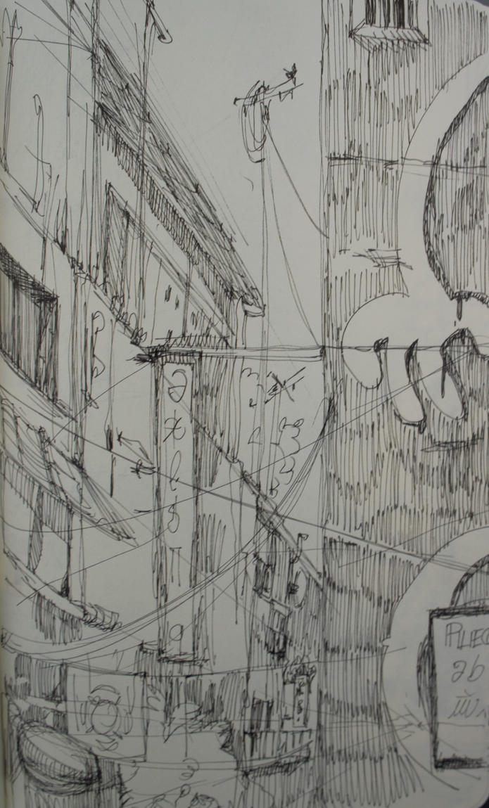 Random Sketch by Tifaerith