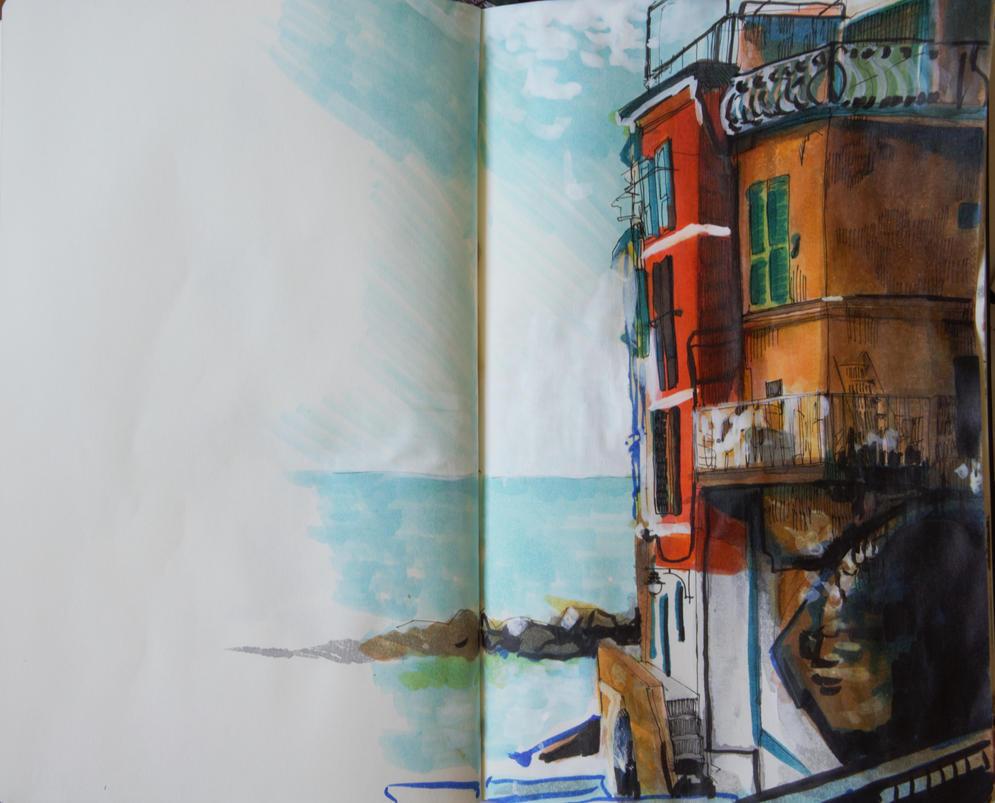 Cinque Terre by Tifaerith