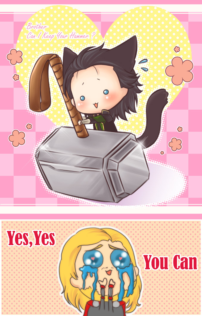 :Loki:Yes,You can by PrinceOfRedroses