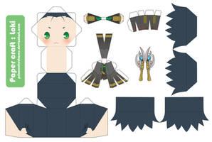 :Loki: PaperCraft
