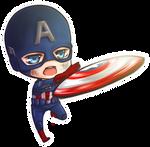:Trade: Chibi Captain America