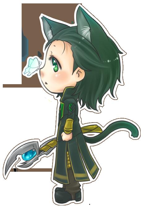 :Loki: Nyako N' Butterfly by PrinceOfRedroses on DeviantArt