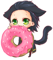 :Loki: doughnut XD by PrinceOfRedroses