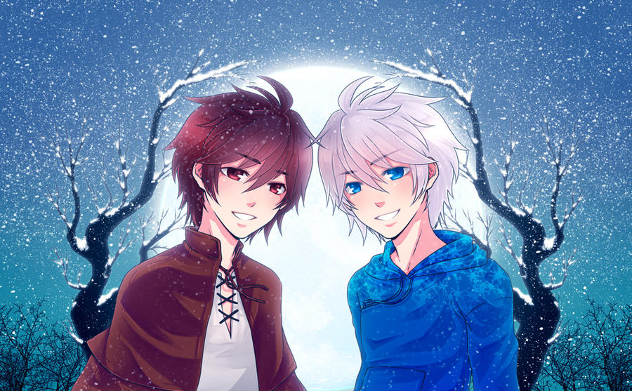 :Jack n Jack Frost: Happy New Year ! by PrinceOfRedroses