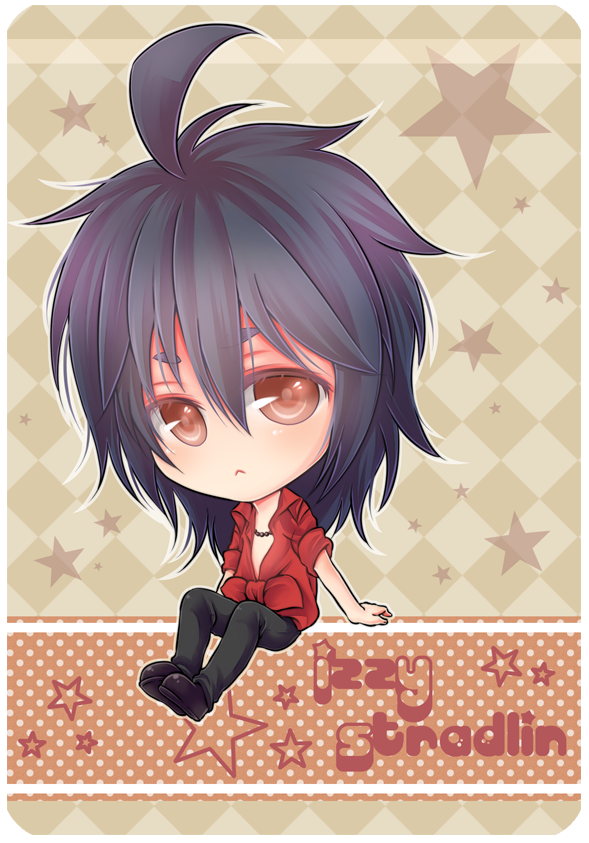 :Gn'R: Izzy Stradlin chibi finished pic by PrinceOfRedroses