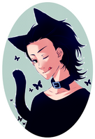 :Loki: Bad kitty ? by PrinceOfRedroses