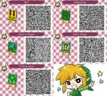 Animal Crossing : LOZ's QR code by PrinceOfRedroses