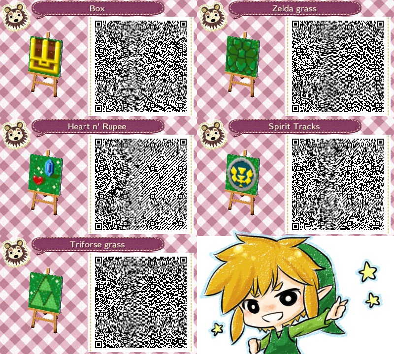 Animal Crossing : LOZ's QR code by PrinceOfRedroses on ...