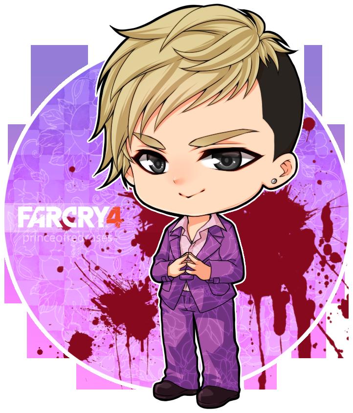 Far Cry 4 Chibi Pagan Min By Princeofredroses On Deviantart