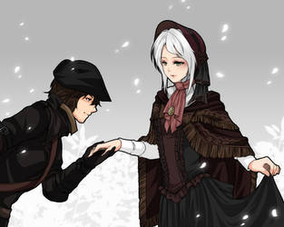 :Bloodborne: My Lady by PrinceOfRedroses